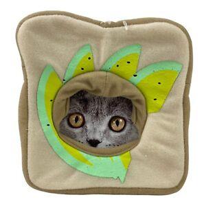 Dog / Cat Hat Costume Headwear Avocado Toast Bread Size: XS/SM Lightweight NEW!
