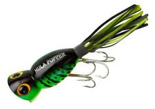 Arbogast Hula Popper 3/8 oz Fishing Lure - Fire Tiger