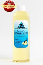 MACADAMIA NUT OIL ORGANIC CARRIER COLD PRESSED 100% PURE 24 OZ