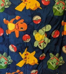 2016 Northwest Co. Pokemon Twin Size Reversible Comforter W/ Bright Graphics