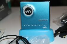Sony MiniDisc Player MDLP MZ-E510 BLUE - Type S - Made in Japan EXCELLENT!