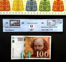 (FR), Billet de banque, FRANCE, 100 Francs, Année : 1998.