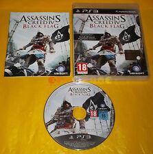 ASSASSIN'S CREED IV 4 BLACK FLAG Ps3 Versione Italiana 1ª Edizione COMPLETO - BT