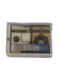 1 2002 Press Pass Premium Authentic Memorabilia Sports Card Of Rusty Wallace