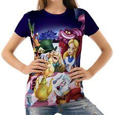 Alice In Wonderland Women T-shirt Tee S M L XL 2XL