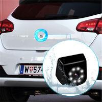 170° Car Rear View Backup Camera 8 LED Night Vision Shockproof and waterproof