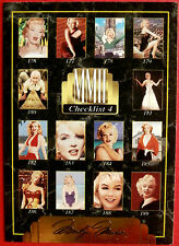 """""""Sports Time Inc."""" MARILYN MONROE Card # 199 individual card, issued in 1995"""