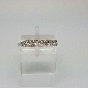 Stunning Platinum Ladies 35pt Diamond Eternity Ring.  Goldmine Jewellers.
