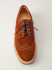 MARK MCNAIRY NEW AMSTERDAM SUEDE COUNTRY BROGUES UK 11 US 12 MADE IN ENGLAND