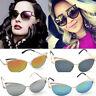 Fashion Retro Gold Cat Eye Women's Sunglasses Classic Designer Vintage Shades
