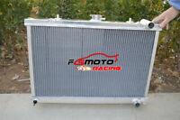 3 ROW Aluminum RADIATOR FOR NISSAN SKYLINE S13 CA18DET / R32 RB20DET 1989-1994