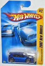 Hot Wheels 2007 New Models #27 Volkswagen Golf GTI blue MOC VHTF Y5 spoke Wheels