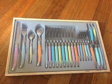 Laguiole Elite - 24 Piece Cutlery Set - Pastel