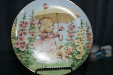 Puddle Pets by Ruth J Morehead Blessed Are Ye Collectible Porcelain Plate