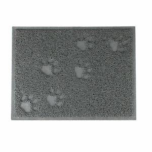 Ancol Cat Litter Tray Mat Clean Floor Pet Box Pan hooded litter mat Rectangle