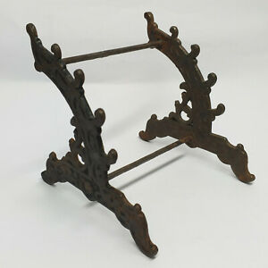 Antique Cast Iron PEN HOLDER DESK STAND #1