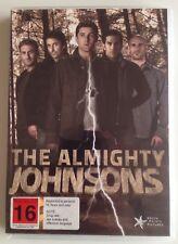 The Almighty Johnsons: Season 1 DVD 3-Disc Set Region Free Sci-Fi SyFy TV Series