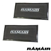 Paire De RAMAIR Panneau Rechange Air Filtre Pour Cayenne VW Touareg Range Rover