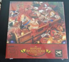 A KEEPSAKE ROCKING HORSE Jigsaw Puzzle CHRISTMAS Hallmark 500 Pieces 1995 New