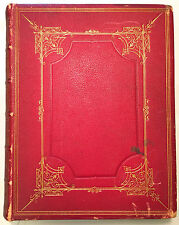 The Holy Bible: Old and New Testament - American Bible Society 1883 Red Leather