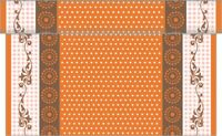 1 Tischläufer Rabea in Orange aus Linclass® Airlaid 40 cm x 4,80 m - Ostern