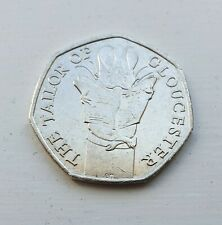 Beatrix Potter The Tailor Of Gloucester 50p 2018