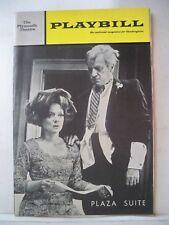PLAZA SUITE Playbill NEIL SIMON / E.G. MARSHALL / BARBARA BAXLEY NYC 1969