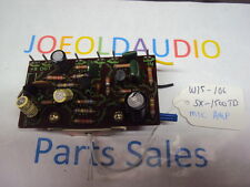 Pioneer SX-1500TD MIC AMP Board. Part # W15 106. Parting Out SX-1500TD/SX-990.