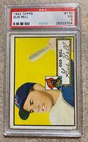 1952 Topps #170 Gus Bell ** PSA VG 3** Pittsburgh Pirates *old baseball card