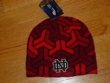 Under Armour ND Notre Dame Fighting Irish Winter Hat Knit Mens Womens RED