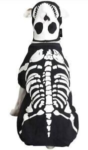 Casual Canine Skeleton Dog/ Cotton Glow Bones Dog Costume (Size Medium)