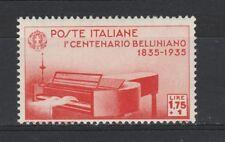 FRANCOBOLLI - 1935 REGNO BELLINI POSTA ORDINARIA L. 1,75 MNH Z/7520