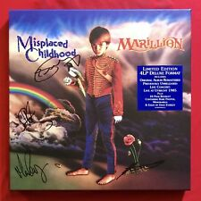 Marillion Misplaced Childhood SIGNED Deluxe 4LP vinyl Steven Wilson mix
