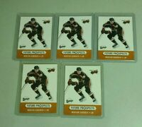 Marian Gaborik Rookie Minnesota Wild LOT OF 5 2000-01 Upper Deck Vintage #381