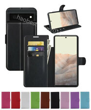Leather wallet stand flip Cover Skin Phone Case For Google Pixel 6