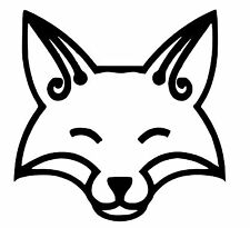 Fox vinyl Decal / Sticker