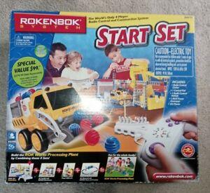 Rokenbok System - Start Set - ROK Works Processing Plant Model # 34111 New Open