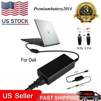 45W AC Adapter For Dell Inspiron 11 13 14 15 3000 5000 7000 Series Charger US