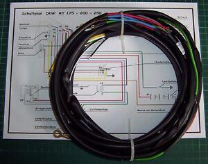 Kabelbaum für  DKW  RT 175 / 200 / 250