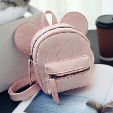 Disney inspirado en las orejas de Mickey Mouse Mochila Bolso Disneyland Bolso de Mano Rosa