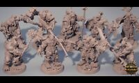 ORCS WARBAND HIGH QUALITY (BANDA DE ORCOS) WARHAMMER WORLD OF WARCRAFT ROL DnD