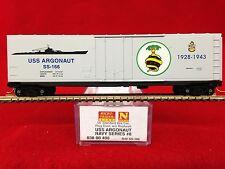 03800408 Us Navy Series Uss Argonaut 50' Box Car Nib