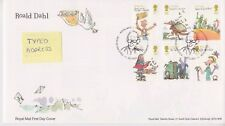 Tallents House PMK GB Royal mail FDC 2012 Roald Dahl Stamp Set