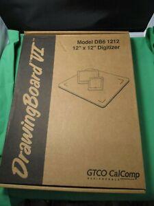 "GTCO CalComp 12""x12"" Drawingboard VI  DB6 1212  NEW"