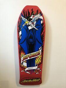 santa cruz skateboard deck Jeff Grosso Re Issue