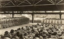 Manchester Docks photo # 77 by R.Banks. ? Cotton Industry. Sacks.