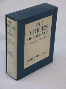 Andre Malraux THE VOICES OF SILENCE Man and His Art Doubleday in Slipcase