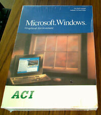 [Nos] Vintage Microsoft Windows Graphical Environment for Dos Systems Sealed