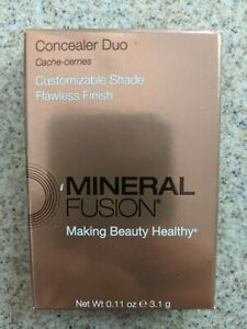 Mineral Fusion Concealer Duo - Deep - Customizable Shade, Flawless Finsih