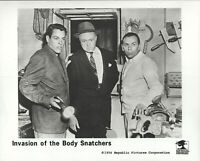 Invasion Of The Body Snatchers Lot Of 3 Press Release 8X10 B/W Glossy Photograph